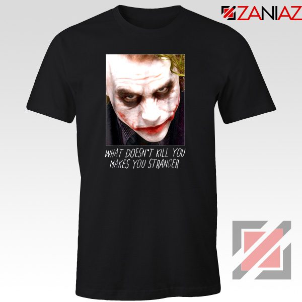 Joker Quotes T-shirts Joker Movie 2019 Tshirts Size S-3XL Black