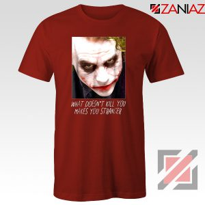 Joker Quotes T-shirts Joker Movie 2019 Tshirts Size S-3XL Red