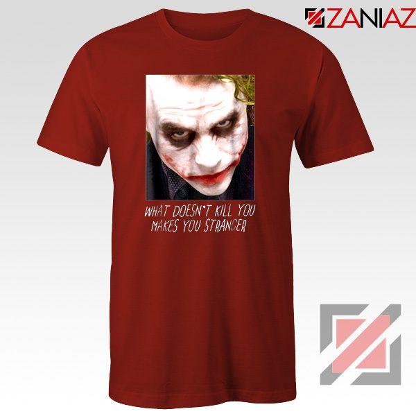 Joker Quotes T-shirts Joker Movie 2019 Tshirts Size S-3XL Red
