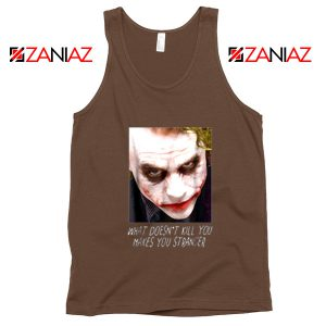 Joker Quotes Tank Tops Joker Movie 2019 Tank Top Size S-3XL Brown