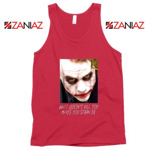 Joker Quotes Tank Tops Joker Movie 2019 Tank Top Size S-3XL Red