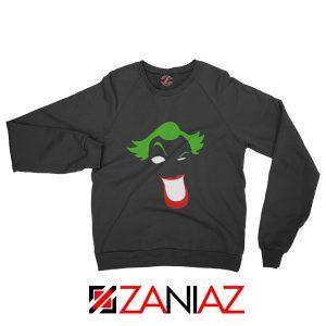 Joker Smile Sweatshirt Joker Film Best Sweatshirt Size S-2XL Black