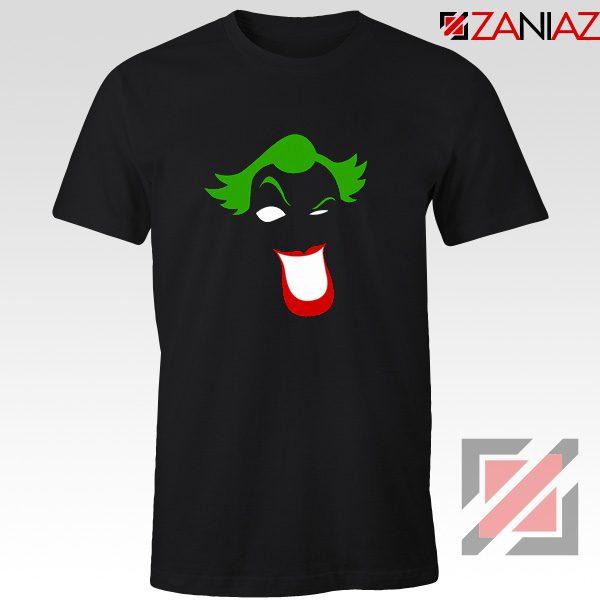Joker Smile T-shirt Joker Film Best Tee Shirts Size S-3XL Black