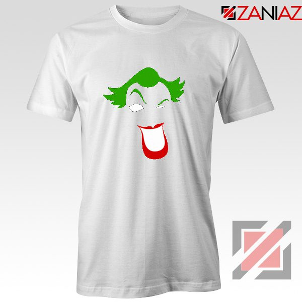 Joker Smile T-shirt Joker Film Best Tee Shirts Size S-3XL White