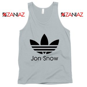 Jon Snow Adidas Tank Top Game Of Thrones Best Tank Top Size S-3XL New Silver