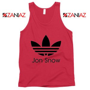 Jon Snow Adidas Tank Top Game Of Thrones Best Tank Top Size S-3XL Red