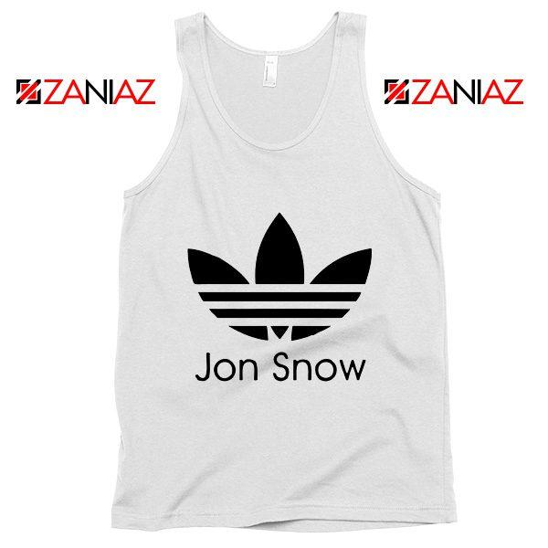 Jon Snow Adidas Tank Top Game Of Thrones Best Tank Top Size S-3XL White