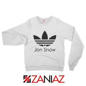 Jon Snow Sweatshirt The Game Of Thrones Sweatshirt Size S-2XL White