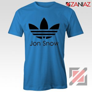 Jon Snow Tee Shirt The Game Of Thrones Best Tshirt Size S-3XL Blue