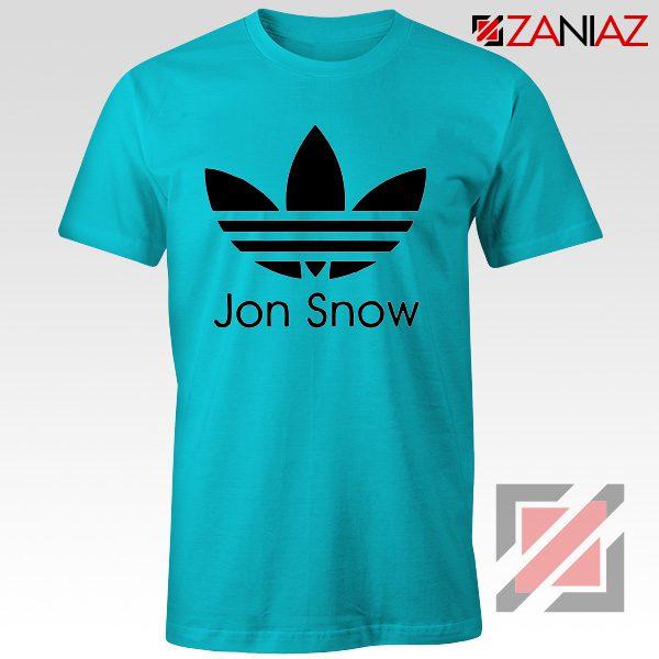 Jon Snow Tee Shirt The Game Of Thrones Best Tshirt Size S-3XL Light Blue