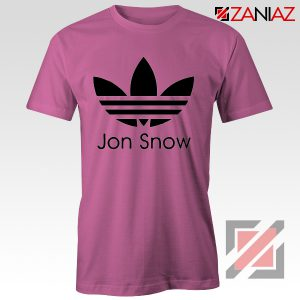 Jon Snow Tee Shirt The Game Of Thrones Best Tshirt Size S-3XL Pink