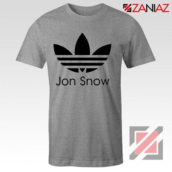 Jon Snow Tee Shirt The Game Of Thrones Best Tshirt Size S-3XL Sport Grey