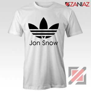 Jon Snow Tee Shirt The Game Of Thrones Best Tshirt Size S-3XL White