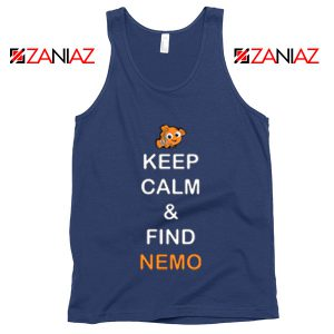 Keep Calm And Find Nemo Tank Top Finding Nemo Tank Top Navy
