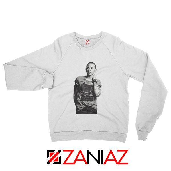 Linkin Park Sweatshirt Chester Charles Bennington Sweatshirt Size S-2XL White
