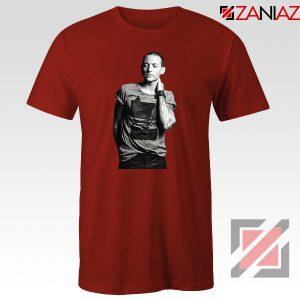 Linkin Park Tshirt Chester Charles Bennington Tshirt Size S-3XL Red