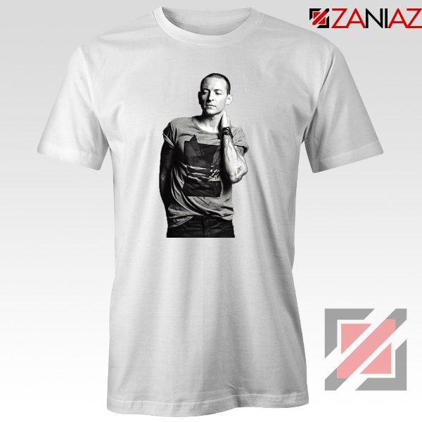 Linkin Park Tshirt Chester Charles Bennington Tshirt Size S-3XL White