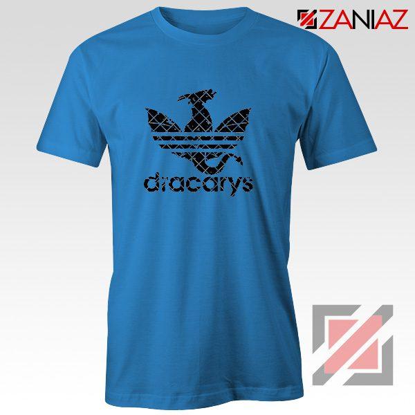 Logo Dracarys T-Shirt Game of Thrones Best Tee Shirt Size S-3XL Blue