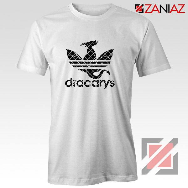 Logo Dracarys T-Shirt Game of Thrones Best Tee Shirt Size S-3XL White