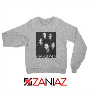 Maroon 5 Band Face Logo Sweatshirt Adam Levine Maroon 5 Sweatshirt Sport Grey