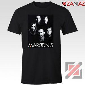 Maroon 5 Band Face Logo T-Shirt Adam Levine Maroon 5 Tshirt Black