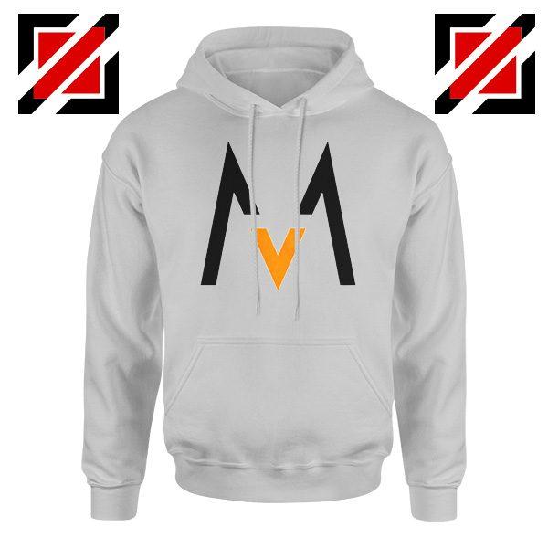 Maroon 5 Logo Hoodie Music Band Maroon 5 Hoodie Size S-2XL Sport Grey