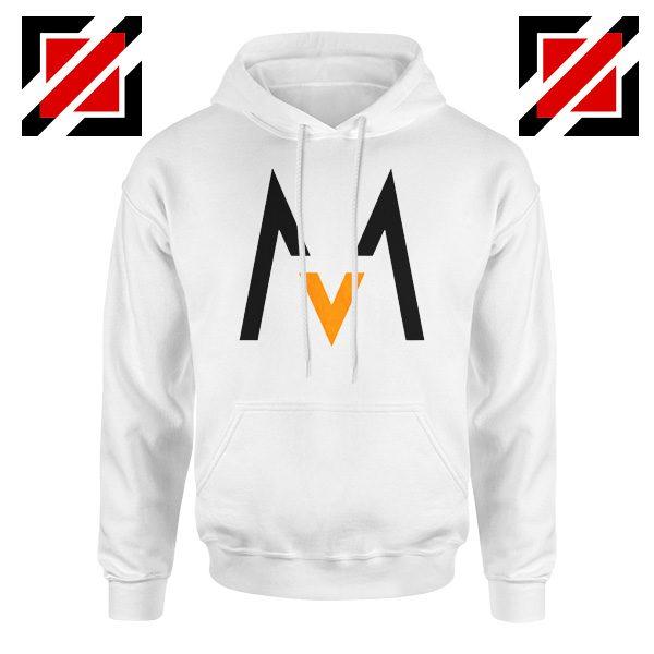 Maroon 5 Logo Hoodie Music Band Maroon 5 Hoodie Size S-2XL White