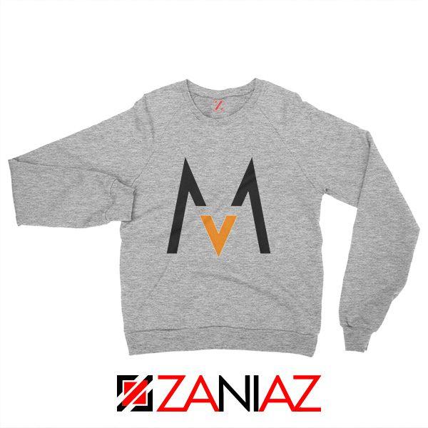Maroon 5 Logo Sweatshirt Music Band Maroon 5 Sweatshirt Size S-2XL Sport Grey