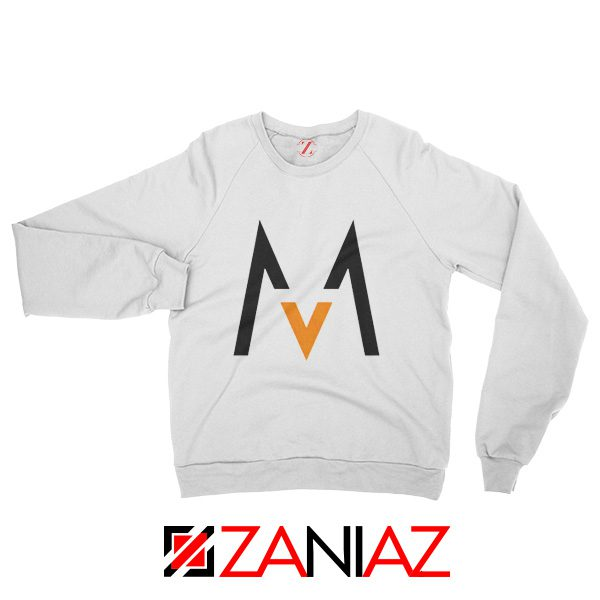 Maroon 5 Logo Sweatshirt Music Band Maroon 5 Sweatshirt Size S-2XL White