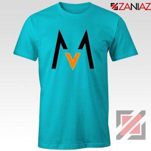 Maroon 5 Logo T shirt Music Band Maroon 5 T-Shirt Size S-3XL Light Blue