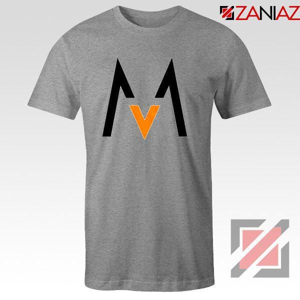 Maroon 5 Logo T shirt Music Band Maroon 5 T-Shirt Size S-3XL Sport Grey