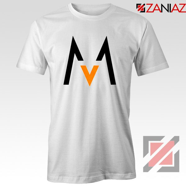 Maroon 5 Logo T shirt Music Band Maroon 5 T-Shirt Size S-3XL White