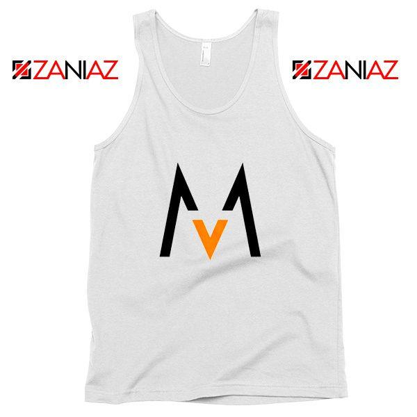 Maroon 5 Logo Tank Top Music Band Maroon 5 Tank Top Size S-3XL White