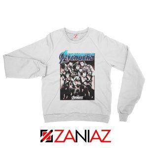 Marvel Avengers Endgame Group Best Sweatshirt Size S-2XL White