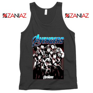 Marvel Avengers Endgame Group Best Tank Top Size S-3XL Black
