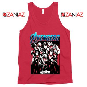Marvel Avengers Endgame Group Best Tank Top Size S-3XL Coral