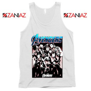 Marvel Avengers Endgame Group Best Tank Top Size S-3XL White