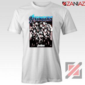 Marvel Avengers Endgame Group Best Tshirt Size S-3XL White