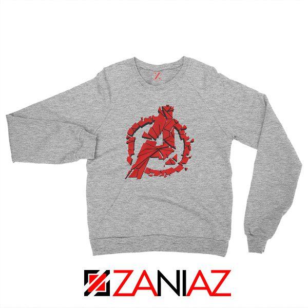 Marvel Avengers Endgame Sweatshirt Avengers Shattered Sweatshirt Sport Grey