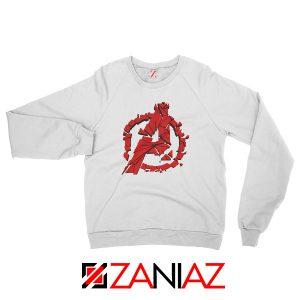 Marvel Avengers Endgame Sweatshirt Avengers Shattered Sweatshirt White