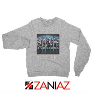 Marvel Avengers Endgame Sweatshirt Super Heroes Sweatshirt Grey