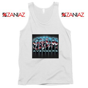 Marvel Avengers Endgame Tank Top Super Heroes Best Tank Top White