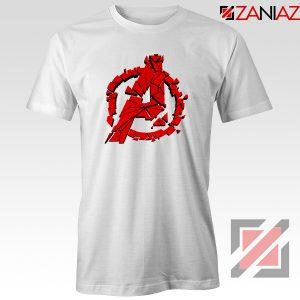 Marvel Avengers Endgame Tee Shirts Avengers Shattered T-Shirt White