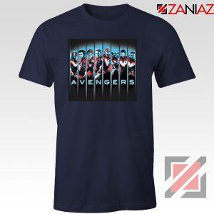 Marvel Avengers Endgame Tshirt Super Heroes Tee Shirt Size S-3XL Navy