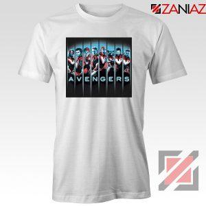 Marvel Avengers Endgame Tshirt Super Heroes Tee Shirt Size S-3XL White