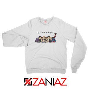 Marvel Avengers Friends Merch Best Sweatshirts Size S-2XL White