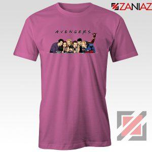 Marvel Avengers Friends Merch Best Tee Shirts Size S-3XL Pink