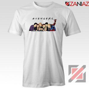 Marvel Avengers Friends Merch Best Tee Shirts Size S-3XL White