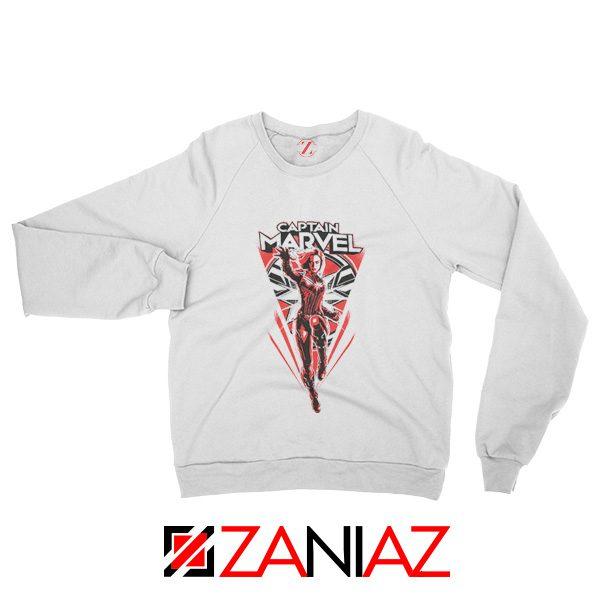 Marvel Captain Sweatshirt Marvel Best Sweatshirt Size S-2XL White