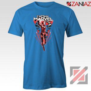 Marvel Captain Tshirt Marvel Best Tee Shirts Size S-3XL Light Blue
